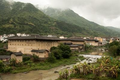 Fujian Xiamen and Tulou