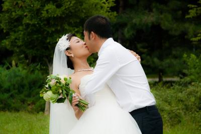 Wedding photos with Jessie