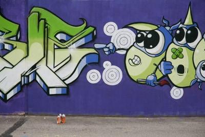 Graffiti event La grande Schmierage