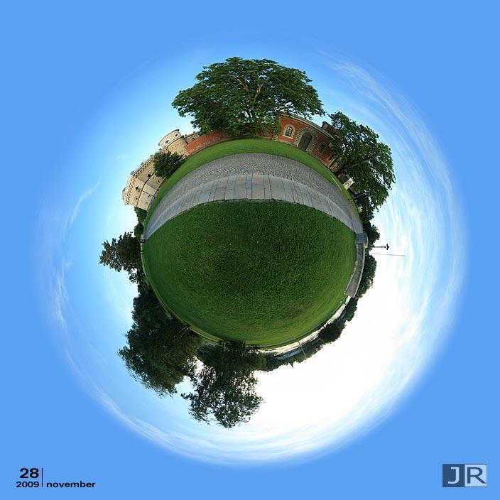 Tiny Planet Ingolstadt Klenzepark Reduit Tilly